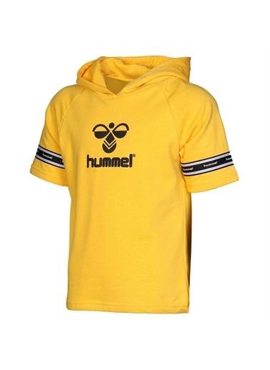 Hummel  Dıago Kısa Kollu Sweatshırt Sarı